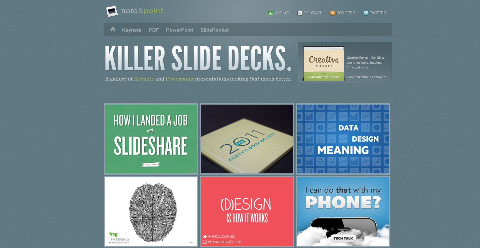 three resources that will help you create stunning presentations today